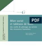 Bilan Social Et Tab de Bords RH