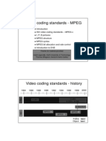 Standards Video Mpeg English