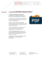 Cápsulas Café Blue Espresso Ricco