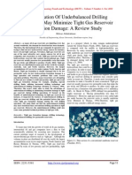 The Utilization Of Underbalanced Drilling Technology May Minimize Tight Gas Reservoir Formation Damage