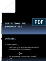Definitions and Fundamentals