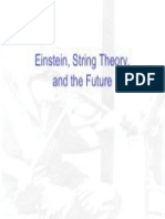 Einstein,String Theory and the Future