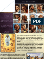 2nd Quarter 2014 Lesson 11 the Apostles and the Law Powerpoint Presentation