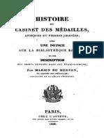 Histoire du Cabinet des médailles, antiques et pierres gravées