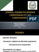 Disnea, Edema Pulmonar