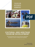 TBE Guide Cultural and Heritage Tourism Jan 2014 Linked