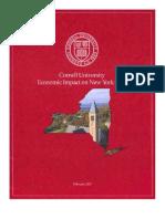 Economic Impact on NY state 2007