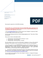 DAAD Registration PhD scholarship
