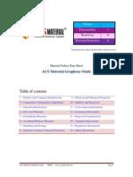 Acs Graphene Oxide Datasheet