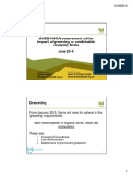 AHDB HGCA Assessment of the Impact of Greening to Combinable Cropping Farms