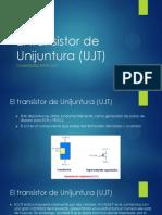 El Transistor de Unijuntura (UJT)