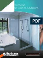 bdm product - shower wardrobe mirror web
