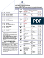 Leaving Certificate Examination, Leaving Certificate Applied Timetable 2014