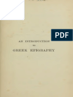 An Introduction to Greek Epigraphy (1905)