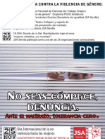 SEMANA DE LUCHA CONTRA LA VIOLENCIA DE GÉNERO