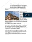Scaffolding Sheffield – the Right Scaffolding for Your Project