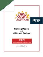 Module1 UIDAI and Aadhaar