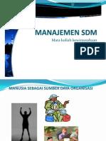 10. Management SDM