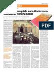 Presencia anarquista en la Conferencia Europea de Historia Social
