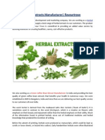 Herbal Extracts Manufacturer| flavourtrove