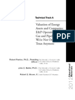Valuation Energy Assets and Cos