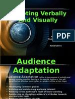Adapting Verbally and Visually
