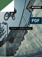 2014 Haro BMX Catalog