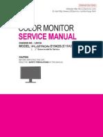 LG- Monitor Lcd Modelo E1942S