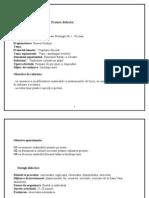 Proiect Didactic invatamant prescolar