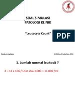 Soal Simulasi Patologi Klinik Blok 8