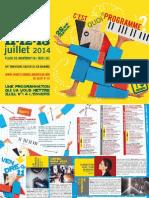 Programme 22ème festival CHAUFFER DANS LA NOIRCEUR