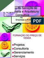 Palestra Precos de ServiçOs de Engenharia e Arquitetura.