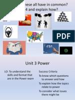 unit 3 power overview