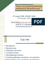 04 Diagnostic Value of Cytohistopathologic Specimens Obtaine