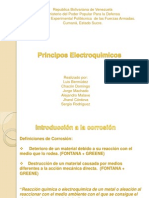 Presentación de Principio Electroquimica.