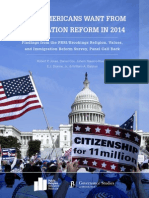 What Americans Want From Immigration Reform in 2014