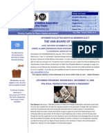 2008 November UNA-Tampa Bay Newsletter