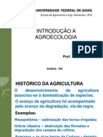 Aula 1, Agroecologia