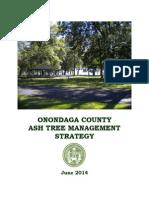 Onondaga County Ash Tree Management Plan June 2014