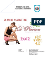 Plan de Markting - d'Pierina