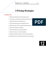 pricing stratagey