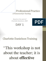 danielson powerpoint by lead teachers