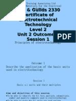 Outcome 1 S1 Basic s.i. Units