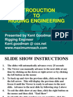 Introduction to Rigging Engineering