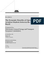 The Economic Benefits of Opening Aviation Markets Between the EU and Brazil