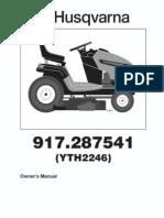 Husqvarna YTH2246 Manual