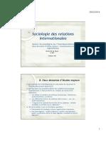 CM - Socio Des RI - Partie 2 - Diapo Enjeux Et Acteurs de Léconomie Internationale