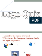 Logo Presentation Quiz