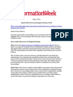Druva - Informationweek - 5-9-14