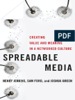 Spreadable.media..Creating.value.and.Meaning.in.a.networked.culture.postmillennial.pop.by.henry.jenkins.sam.Ford.and.Joshua.green